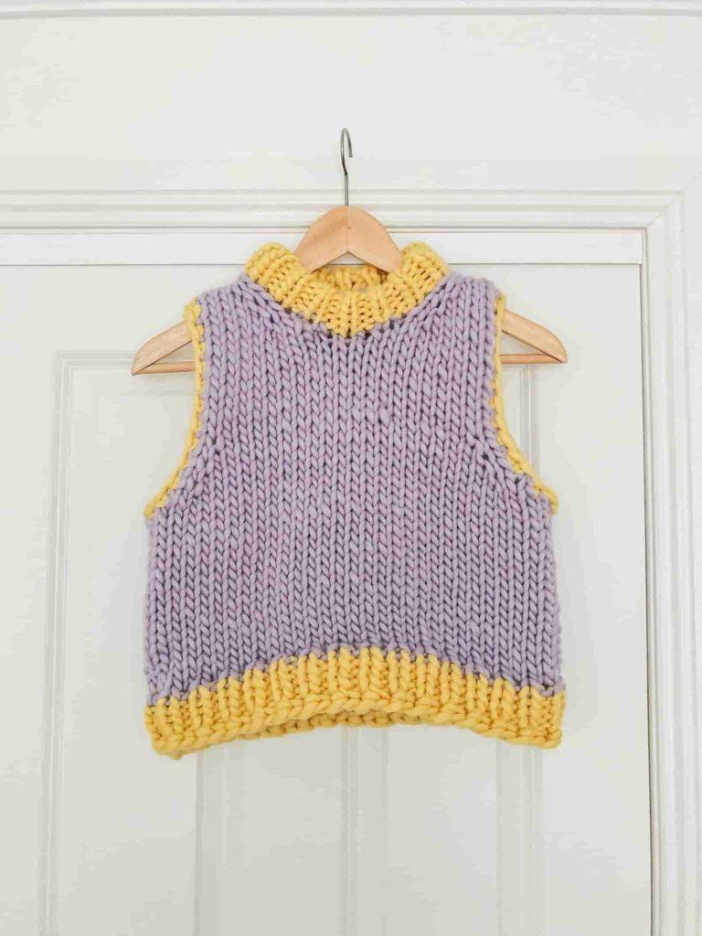 Friday vest knitting pattern