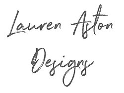 Lauren Aston Designs logo 1 3