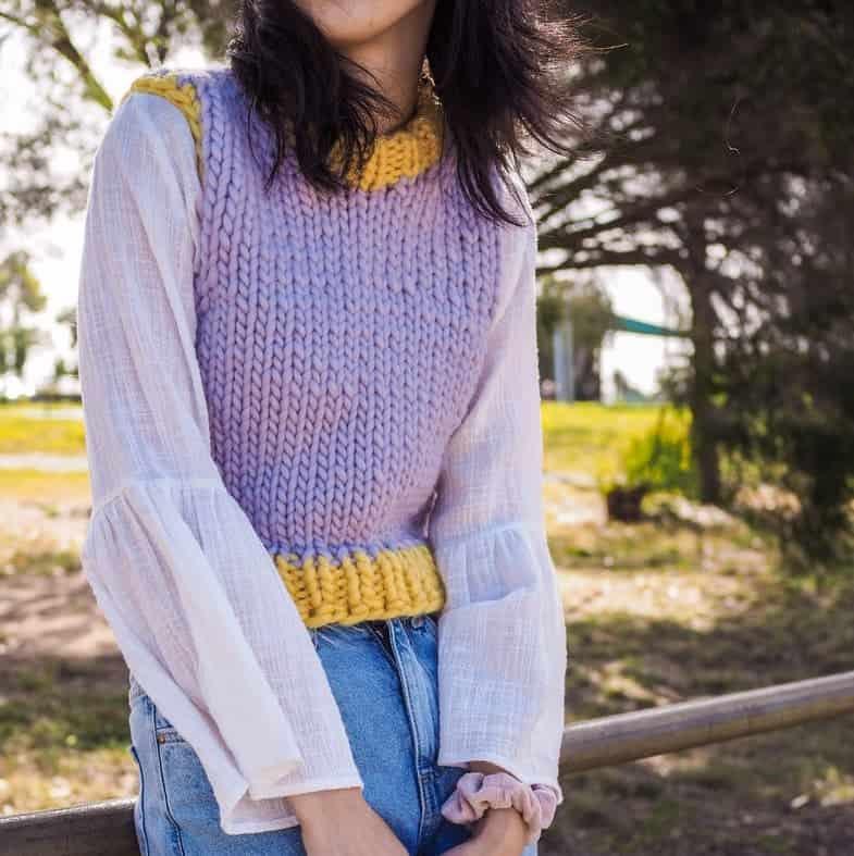 friday vest knitting pattern 1 3