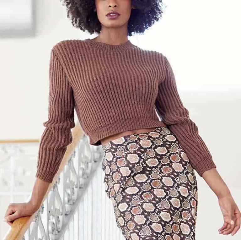 Rowan Cropped Sweater