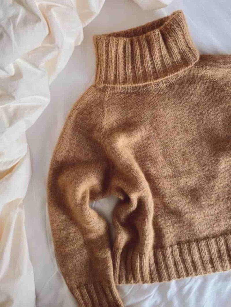 Caramel Sweater by PetiteKnit