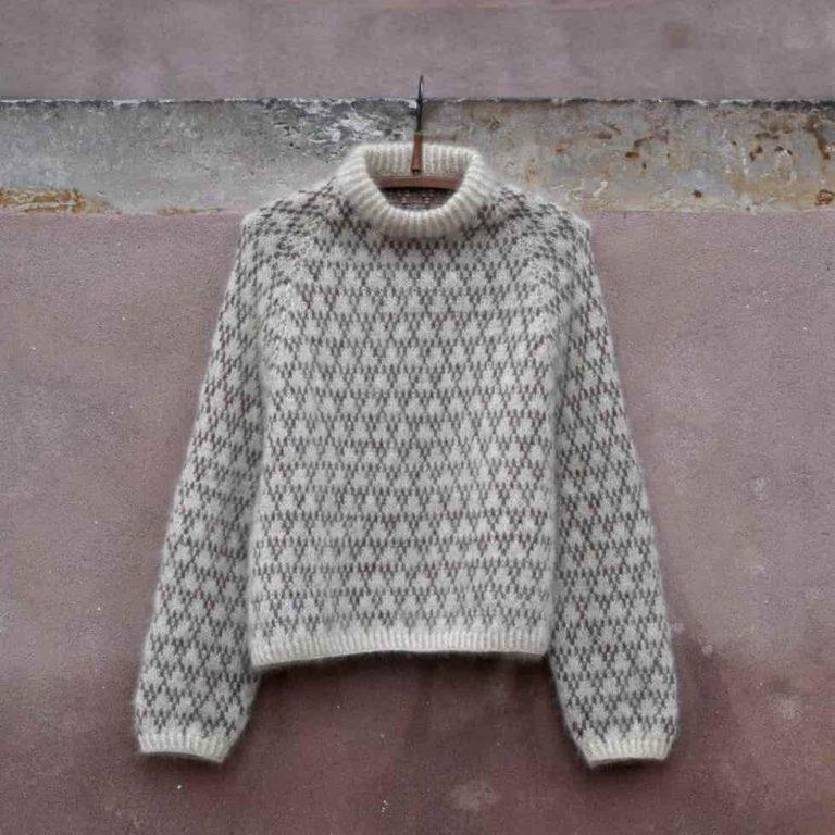 Cashmere Spot sweater kit