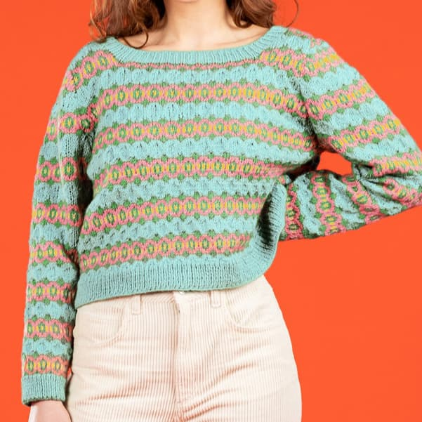 Diamond Fair Isle Sweater