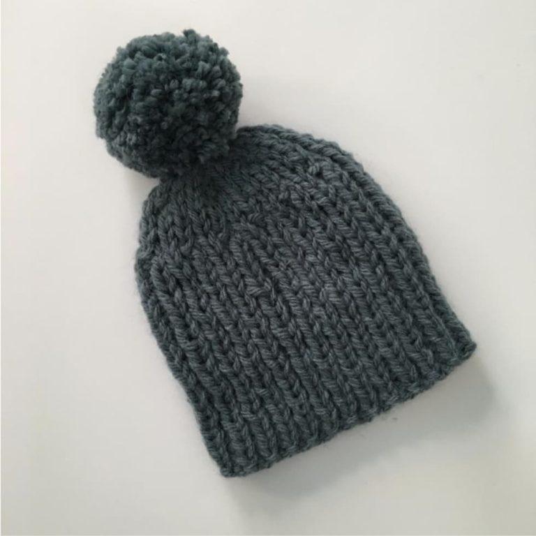 easy bulky bobble hat
