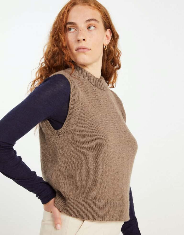 Patience Tank Cashmere Knitting Kit