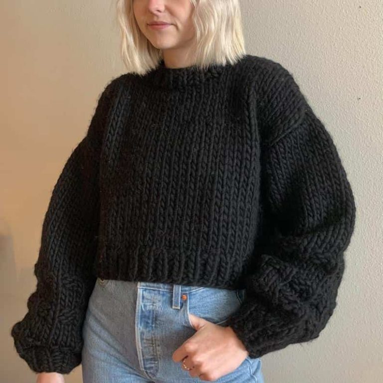 Perfect Cropped Sweater