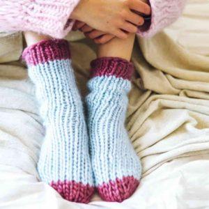 """Sock it to me"" knitting kit by lauren aston designs"