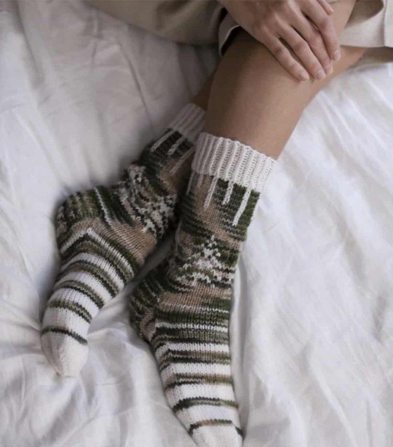 Spring In The Air Socks Knitting Kit