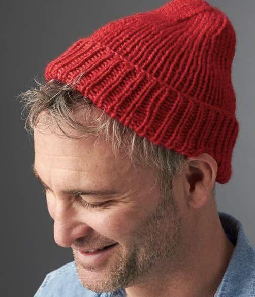 mens chunky beanie hat