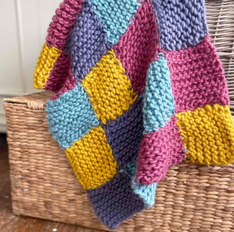 IKNITPRETTY Beginner Baby Blanket Knitting kit