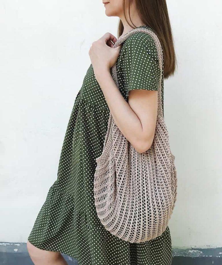 Knitted Market Bag