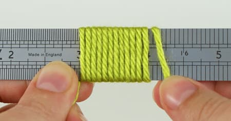 measuring WPI with a ruler