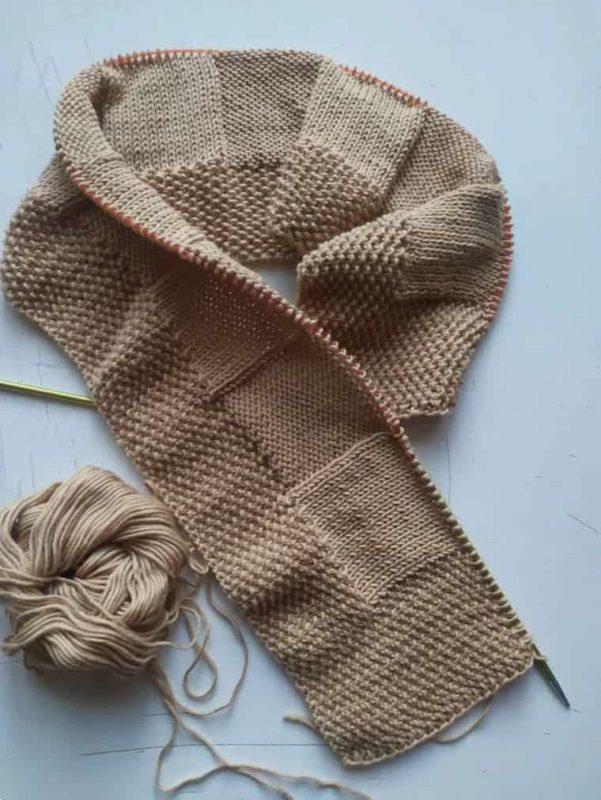 SoftKnitCloud Baby blanket Knitting kit