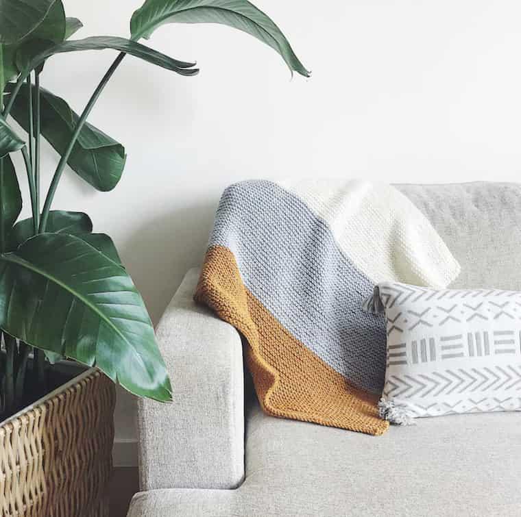 Stripey Baby Blanket Kit