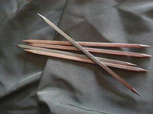 square knitting needles